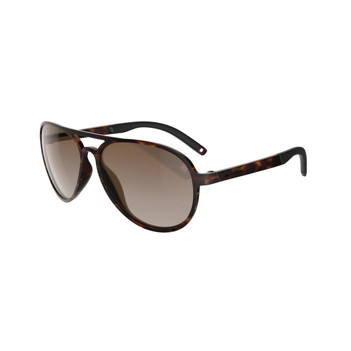 Zonnebril MH 500 voor wandelen bruin glazen met kleurverloop categorie 2