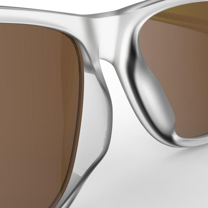 Gafas de sol de senderismo adulto MH140 verde translúcido categoría 3