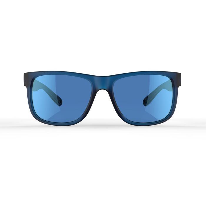 Gafas de sol de senderismo adulto MH140 azul categoría 3