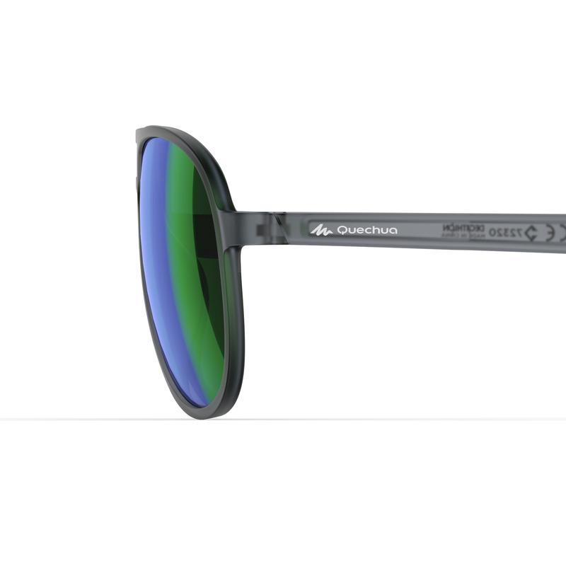 MH120A Category 3 Hiking Sunglasses – Black & Green