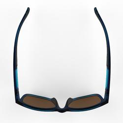 Sonnenbrille Wandern MH140Kategorie 3 Erwachsene blau