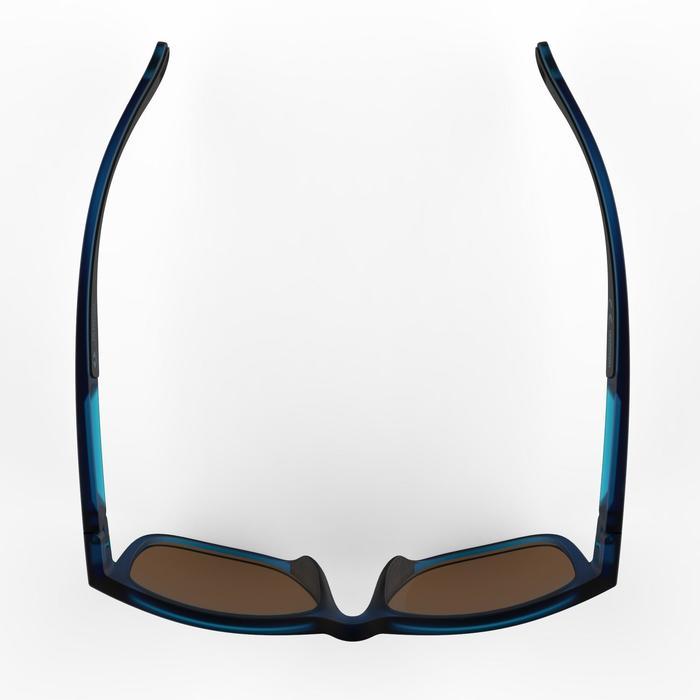 lunettes de soleil de randonnée adulte MH 540 bleues catégorie 3
