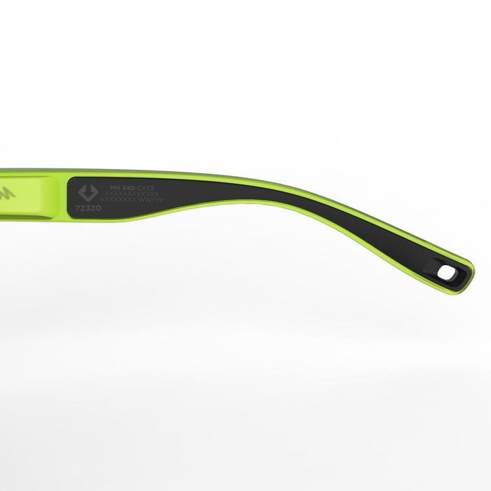 Sonnenbrille Wandern MH140Kategorie 3 Erwachsene grün transparent