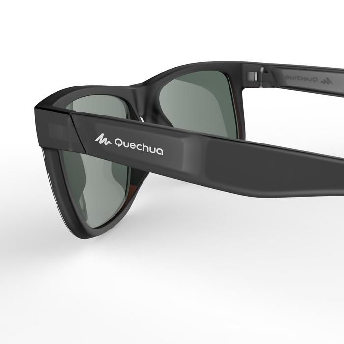 varios tipos de brillo encantador última moda Gafas de sol de senderismo MH140 gris y verde polarizadas categoría 3