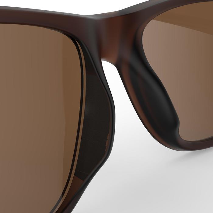 Gafas de sol senderismo MH 540 marrón polarizadas categoría 3