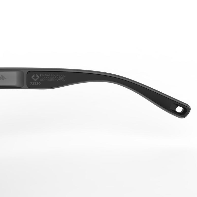 Hiking Sunglasses MH140 Category 3 (Polarized) - Grey & Green