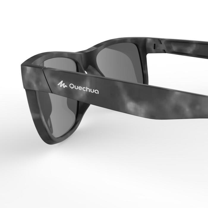lunettes de soleil de randonnée adulte MH 540 grises et violettes catégorie 3
