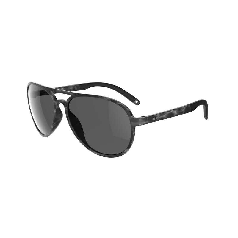 OCCHIALI MONTAGNA ADULTO Occhiali e binocoli - Occhiali MH120A CAT3 grigi QUECHUA - Occhiali e binocoli