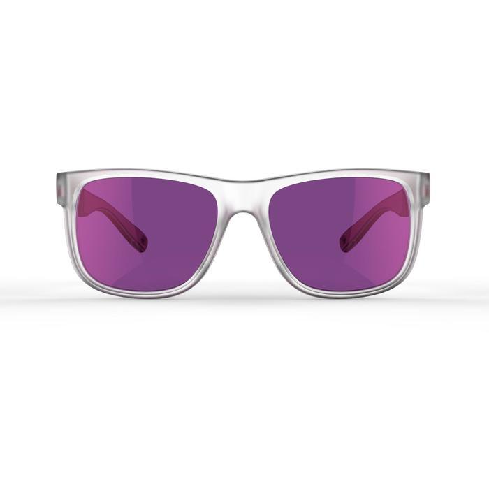 lunettes de soleil de randonnée adulte MH 540 rose translu catégorie 3