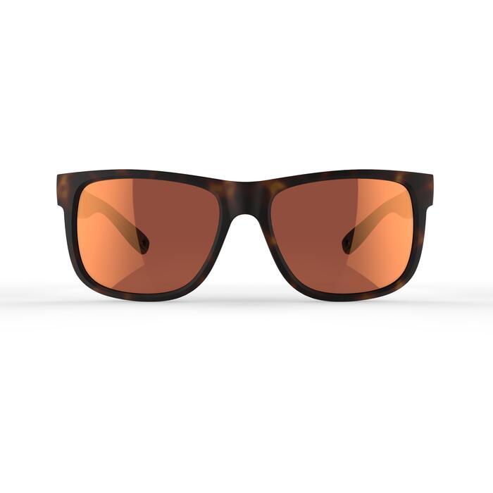 Sonnenbrille MH540 Kategorie3 Erwachsene braun/rot