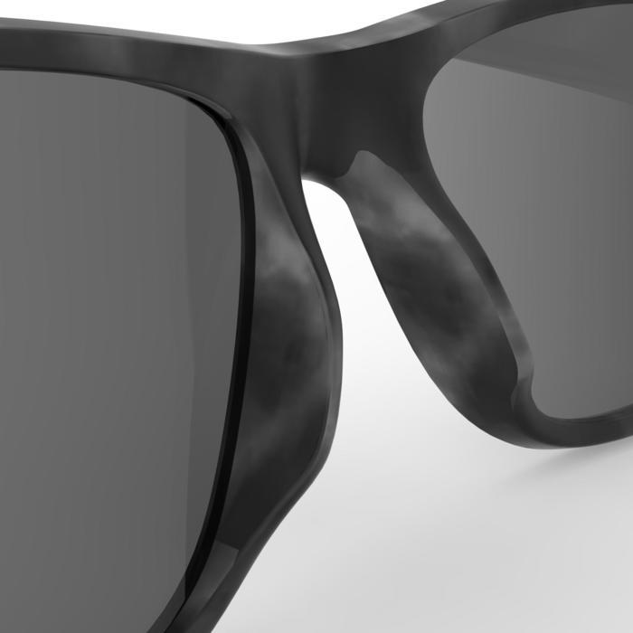 lunettes de soleil de randonnée adulte MH 540 grises catégorie 3