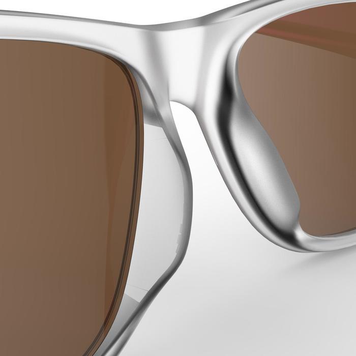 Sonnenbrille Wandern MH140Kategorie 3 Erwachsene transparent/rosa