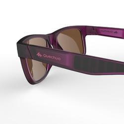 Lunettes de soleil de randonnée MH140 Ptites violettes catégorie 3