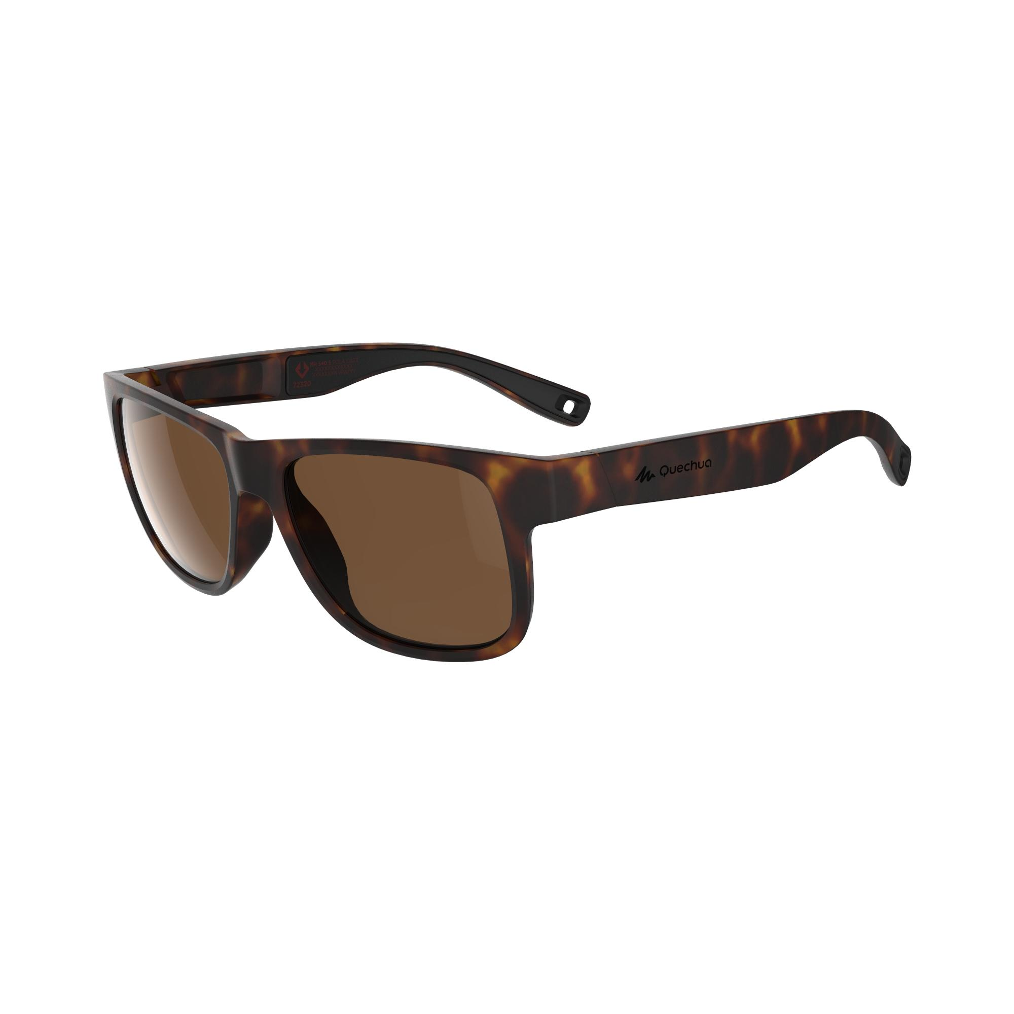 MH 540 Category 3 Polarising Hiking Sunglasses - Small - Brown