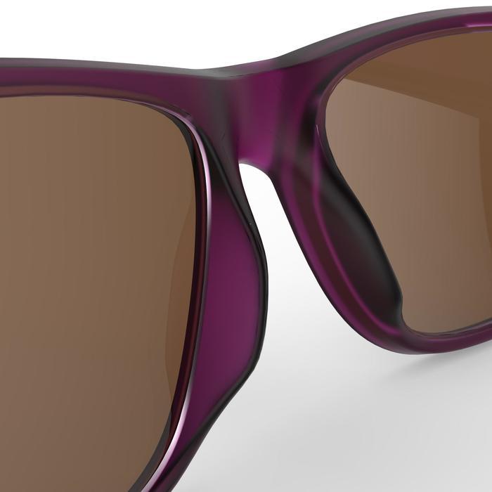 Gafas de sol de senderismo MH140 SMALL violeta categoría 3