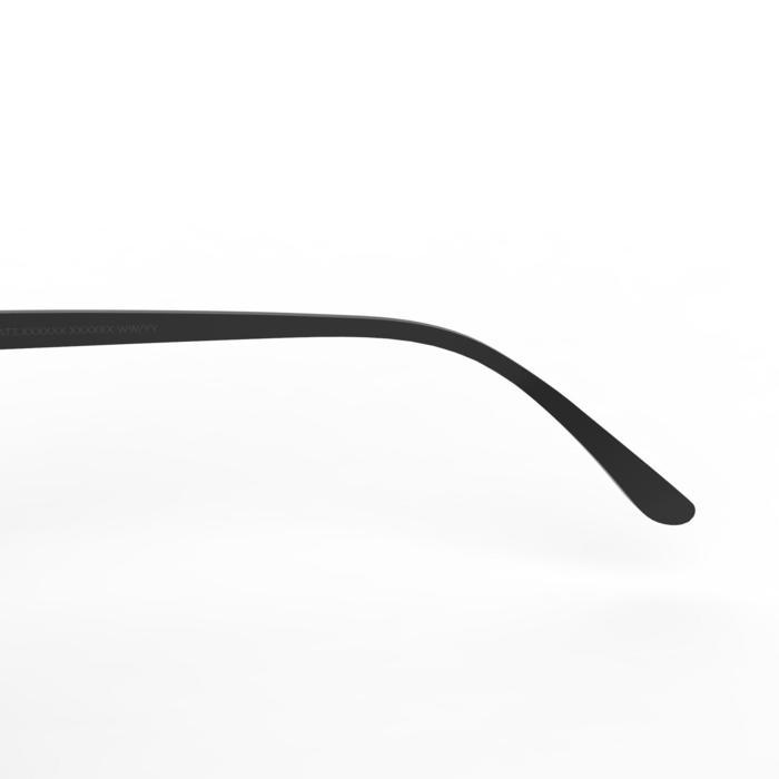Sonnenbrille polarisierend Wandern MH160Kategorie3 Erwachsene schwarz