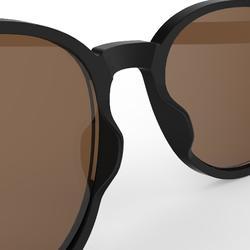 Gafas de sol de senderismo MH 160 negro polarizadas categoría 3