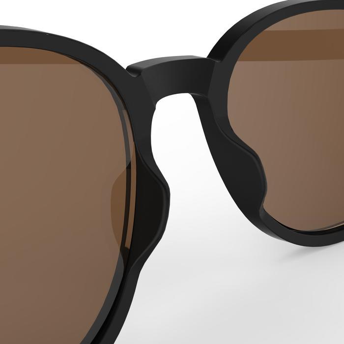 Gafas de sol de senderismo MH negro polarizadas categoría 3