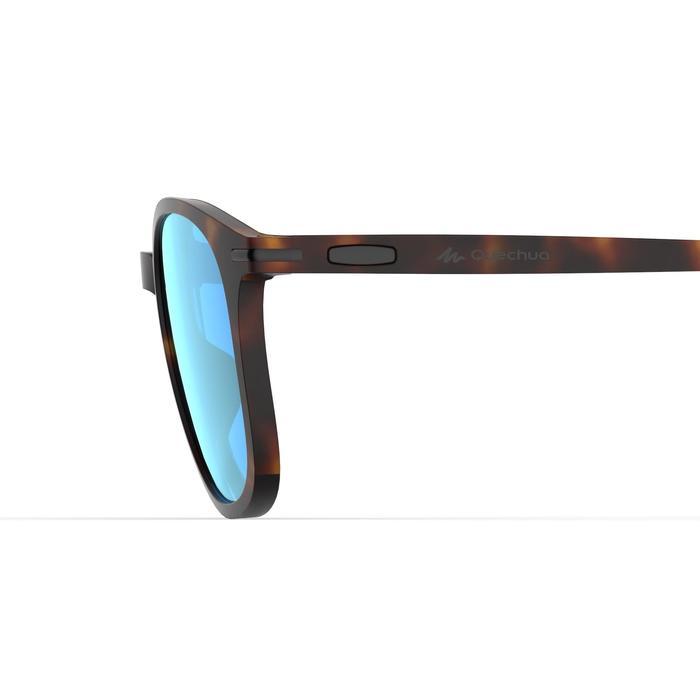 Wandelzonnebril voor volwassenen MH160 bruin en blauw categorie 3