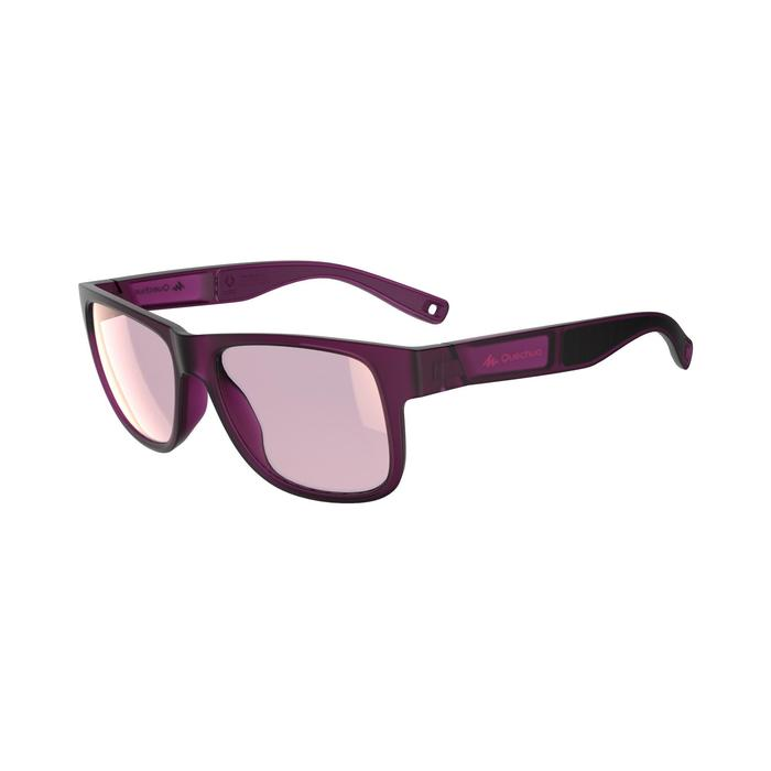 Lunettes de soleil de randonnée MH 540 SMALL violettes catégorie 3