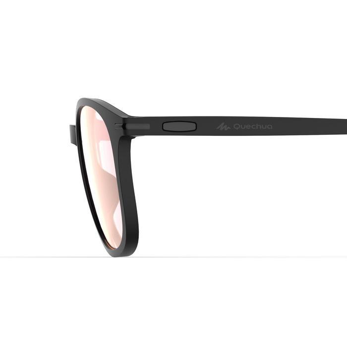 Wandelzonnebril MH160 zwart polariserend categorie 3