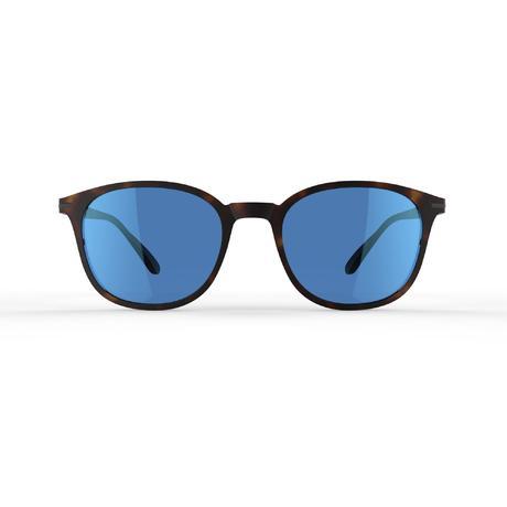 3a849d1e3b Lunettes de soleil de randonnée MH160 marron et bleues catégorie 3 ...