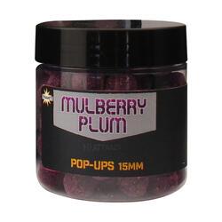 BOUILLETTE PÊCHE DE LA CARPE MULBERRY PLUM POP UP 15MM