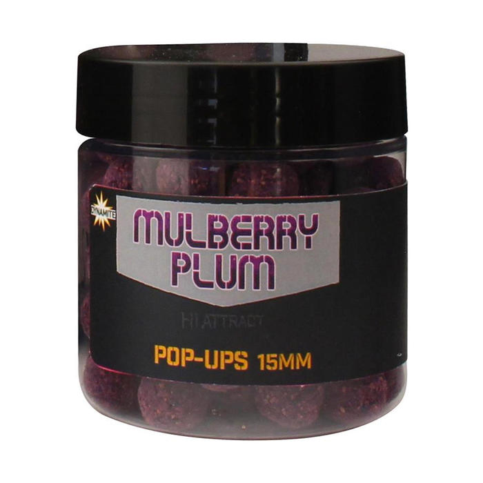 BOUILLETTE PÊCHE DE LA CARPE MULBERRY PLUM POP UP 15MM