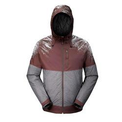 SH500 男士保暖雪地健行運動夾克 - 黑色