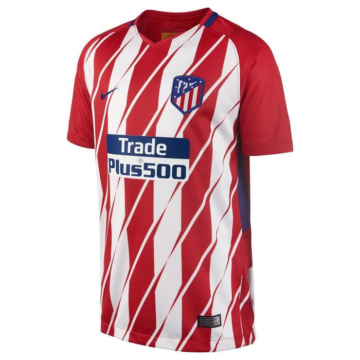 Maillot réplique de football enfant Atlético rouge blanc - 1254095