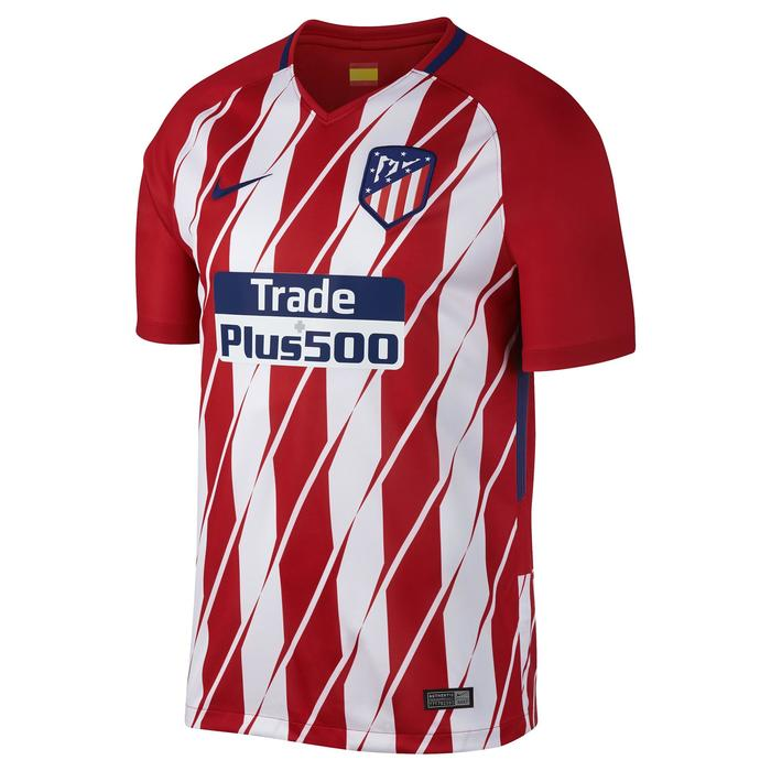 Maillot réplique de football adulte Atletico à domicile rouge blanc - 1254096