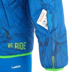 Skijacke Ski-P JKT 100 warm wendbar Kinder blau