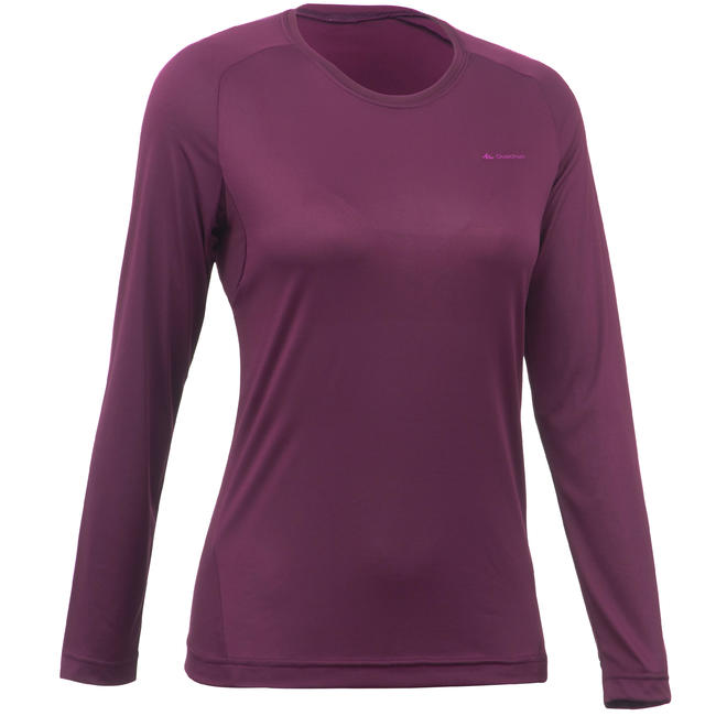 Women's T shirt MH150 (Full Sleeve) - Plum