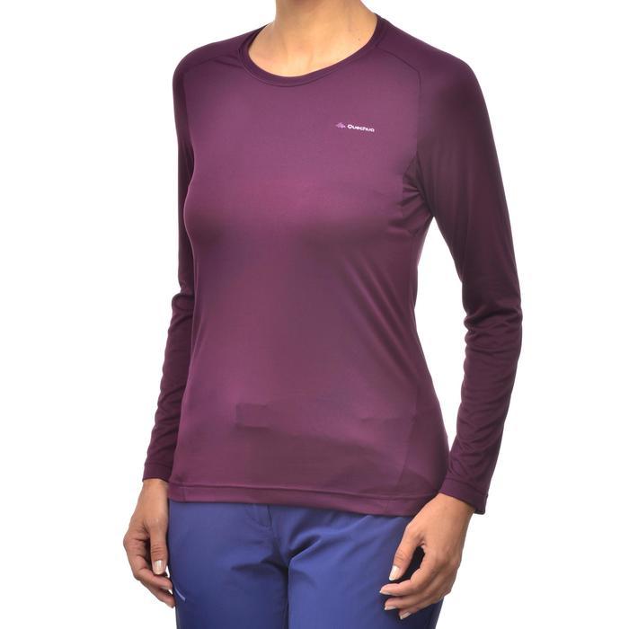 Tee-Shirt manches longues randonnée Techfresh 50 femme - 1254159