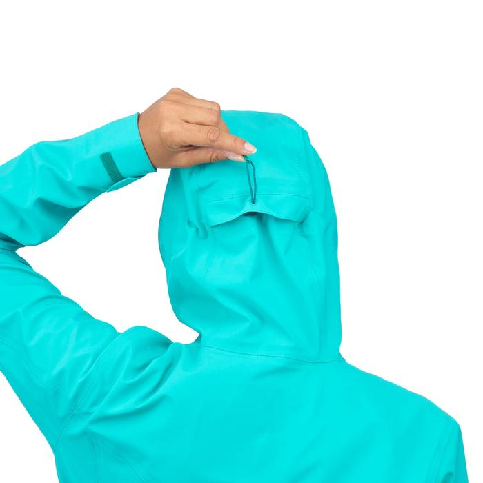 Veste de pluie imperméable de randonnée montagne MH500 Femme - 1254179