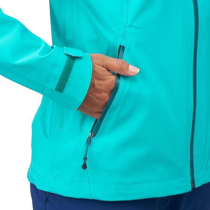 Veste de pluie imperméable de randonnée montagne MH500 Femme - 1254190
