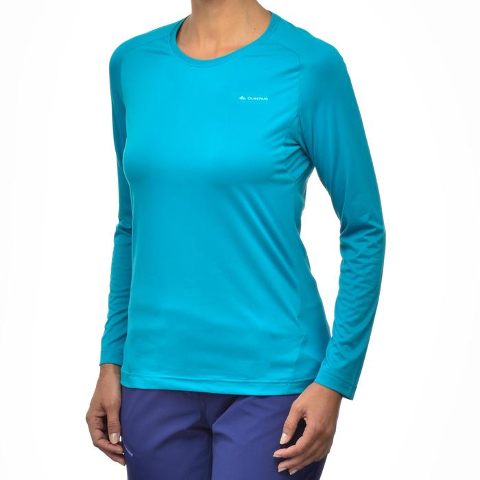 Tee-Shirt manches longues randonnée Techfresh 50 femme - 1254223