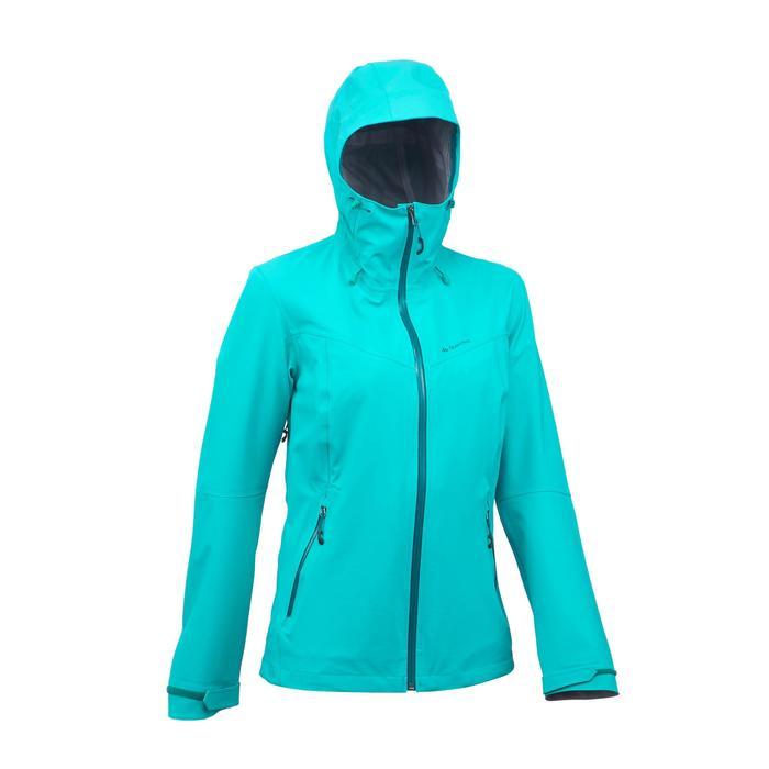 Veste de pluie imperméable de randonnée montagne MH500 Femme - 1254254