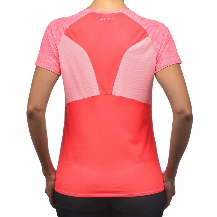 Tee-Shirt manches courtes randonnée Techfresh 100 femme - 1254264