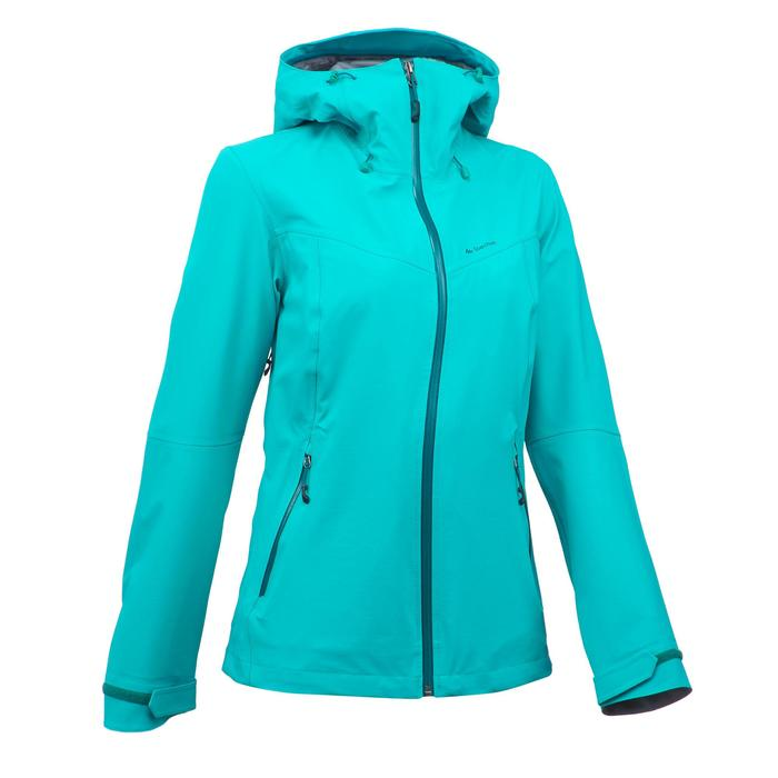 Veste de pluie imperméable de randonnée montagne MH500 Femme - 1254280