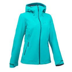 Veste de pluie imperméable de randonnée montagne MH500 Femme