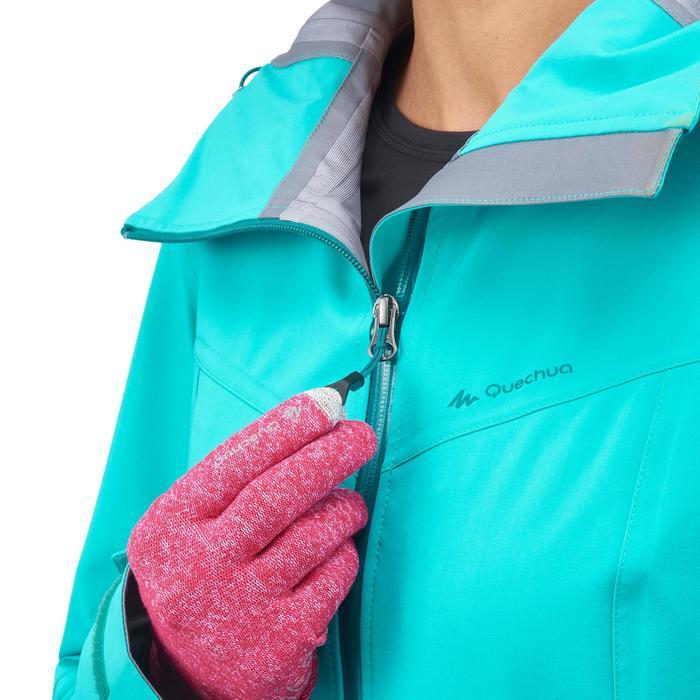 Veste de pluie imperméable de randonnée montagne MH500 Femme - 1254285