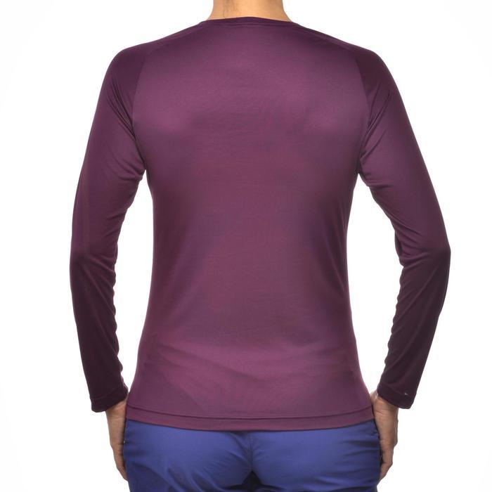 Tee-Shirt manches longues randonnée Techfresh 50 femme - 1254301