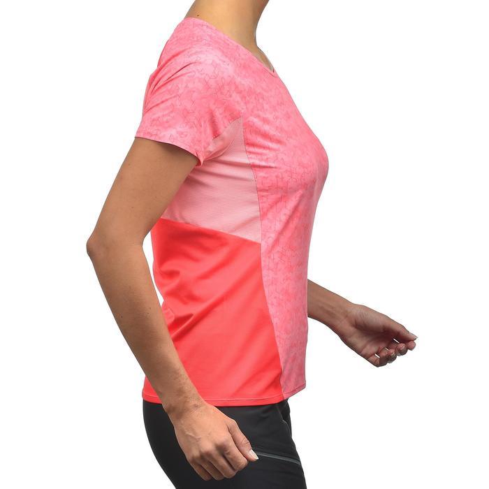 Tee-Shirt manches courtes de randonnée en montagne MH500 Femme - 1254306