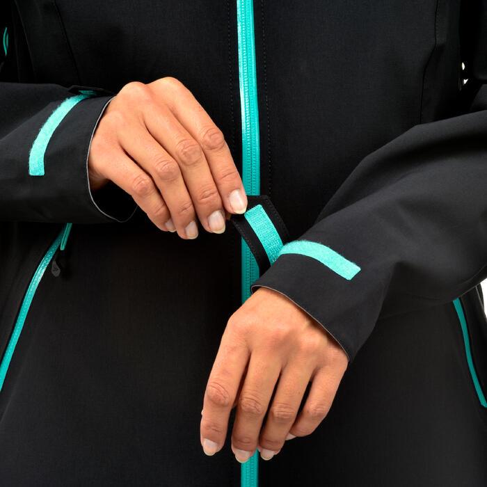 Waterdichte wandeljas MH500 voor dames zwart
