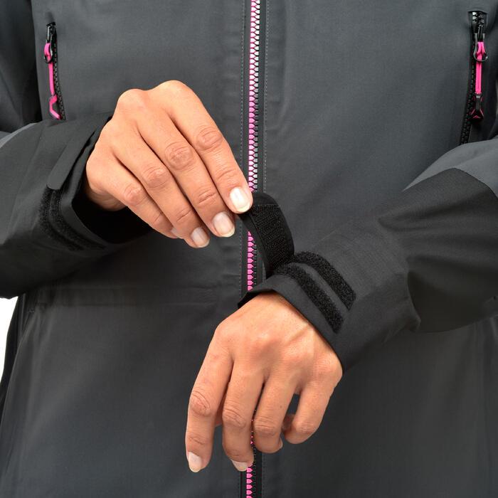 Waterdichte wandeljas MH900 voor dames zwart