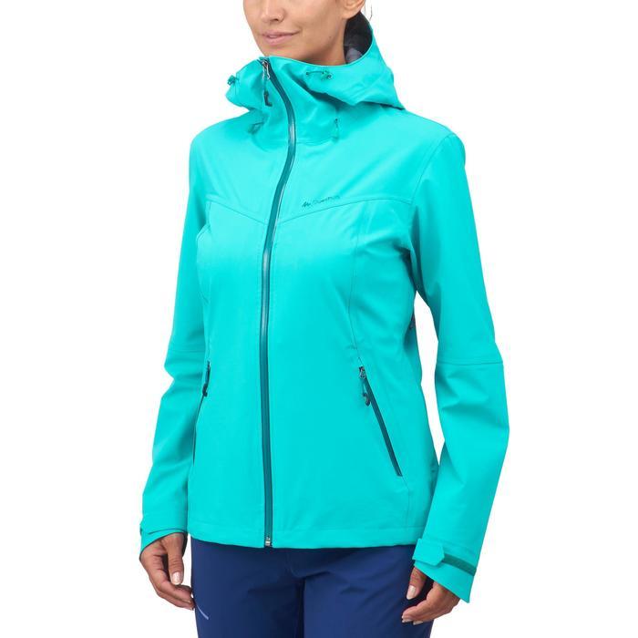 Veste de pluie imperméable de randonnée montagne MH500 Femme - 1254331