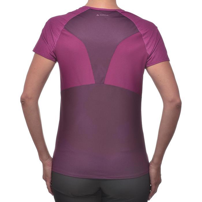 Tee-Shirt manches courtes randonnée Techfresh 100 femme - 1254339