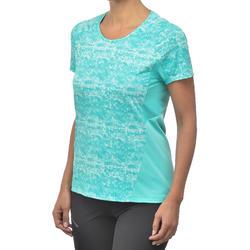 Women's Short Sleeved Mountain Walking T-Shirt - MH500
