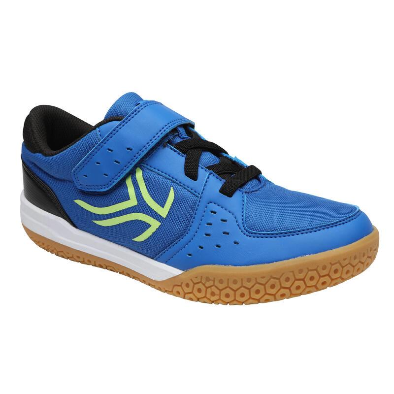 6878892162e84f KID s Badminton Shoes BS730 - BLUE